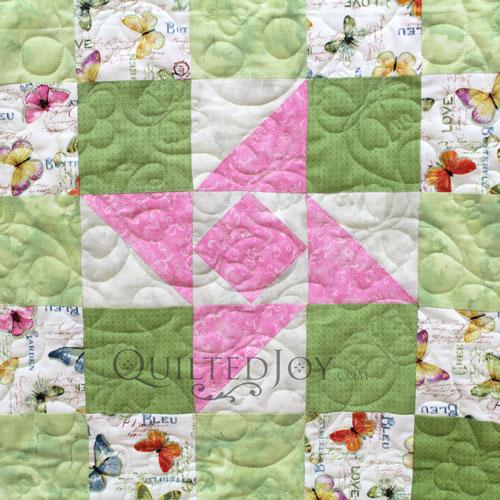 Friendship Star Block Variation on Mary Jo's Sampler Quilt