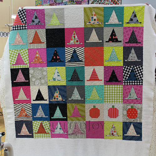 Halloween Haberdashery Quilt made by Erin of HouseOnHillRoad.com