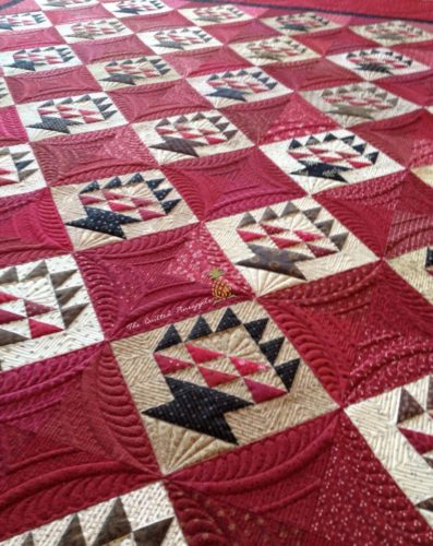Learn How to Quilt Fillers in this Longarm Quilting Class taught by Linda Hrcka of the Quilted Pineapple