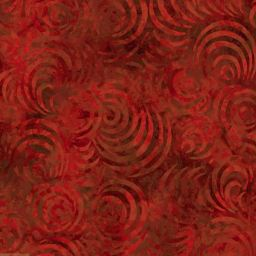 Whirlpools - Red. Wilmington Batik 1054-2083-333, 745181400972. Available at Quilted Joy.com.
