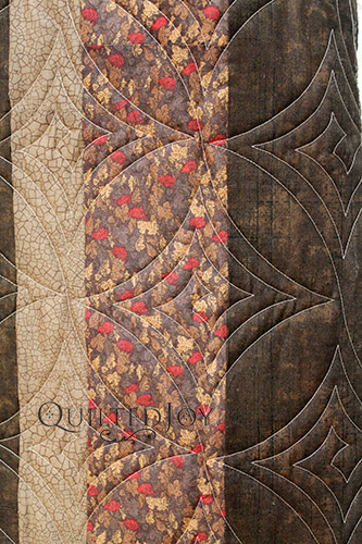 Quilt Border with Longarm Quilting