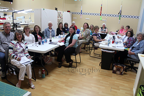 Class at Quilted Joy