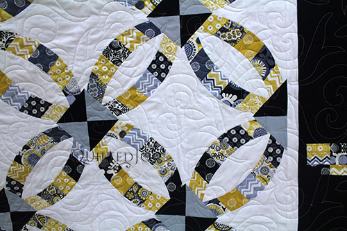 Applique by our longarm machine renters will blow your mind