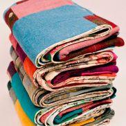 Choose between 5 Harris Tweed quilts