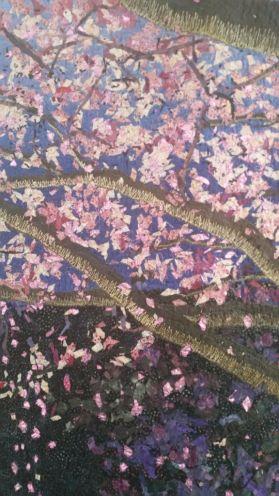 Blossom quilt detail
