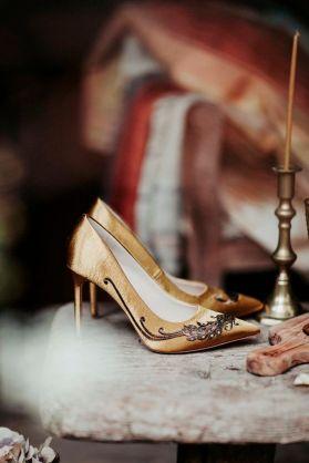 Mustard Shoes and Amber Goblets www.zara.com Instagram zara