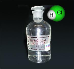 ácido clorhídrico compuesto químico