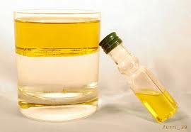 mezcla heterogénea grosera vinagre y aceite