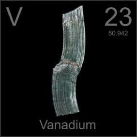 Elemento químico vanadio