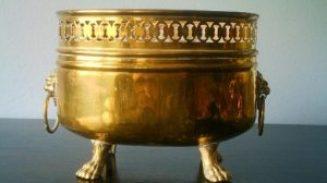 Recipiente de bronce (Cobre-Estaño)