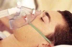 oxígeno problemas respiratorios