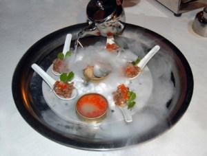 hielo seco gastronomía