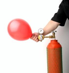 llenar globos con Helio