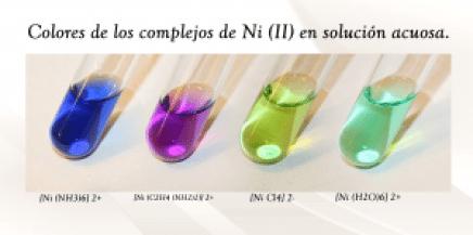 complejos de níquel II
