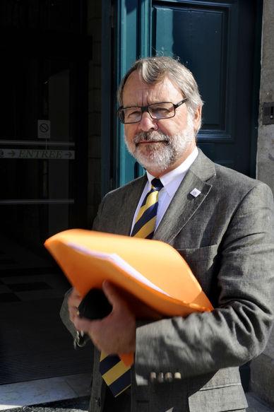 Bernard Ricordeau médiateur de la ville de Quimper.