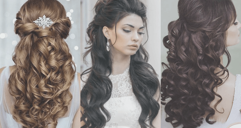 Fab Hairstyles For Curly Quinceaneras