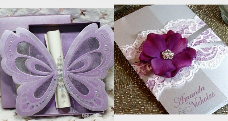 Quince Invitations 10 Shades Of Purple Quinceanera
