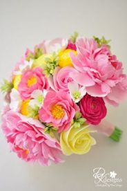 pink yellow bouquet