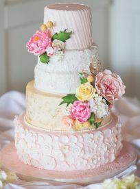 pink yellow cake 2
