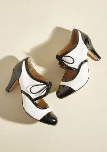 Chelsea Crew Vintage-inspired heels, $79.99; Click here to purchase