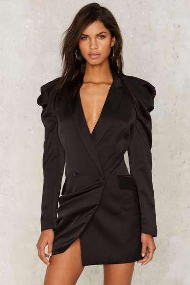 Blazer Mini Dress $128; Click here to purchase