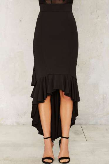 Ruffle Skirt $58; Click here to purchase