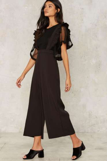 Suspender Trousers $68; Click here to purchase