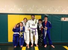 Quincy Brazilian Jiu Jitsu Medalists Brandon, Naomi & Trytan
