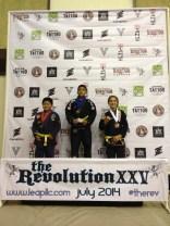 Jaselyn Jones of Quincy Brazilian Jiu-Jitsu in Grant County, WA