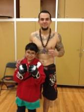 Edson with his nephew