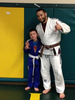 Congratulations to Anthony getting promoted by Coach Pipes at Quincy Brazilian Jiu-Jitsu