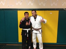 Congratulations to Timmy Silvas getting promoted by Coach Pipes at Quincy Brazilian Jiu-Jitsu