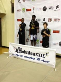 Mykenzi takes 1st in No Gi