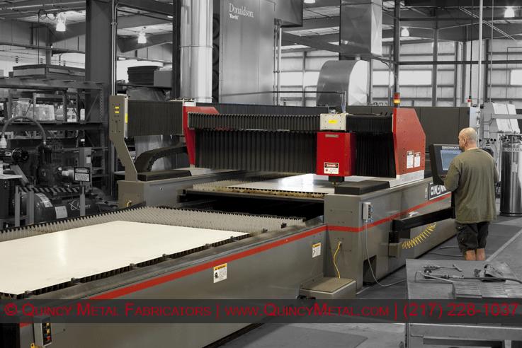 Quincy Metal Fabricators Cincinnati CL440 Laser