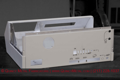 Quincy Metal Fabricators Precision Sheet Metal Screen Printing Enclosure