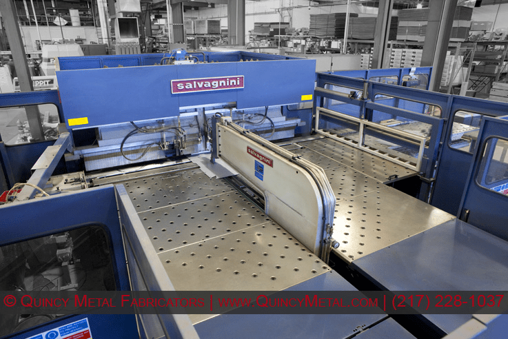Quincy Metal Fabricators Salvagnini automated panel bender