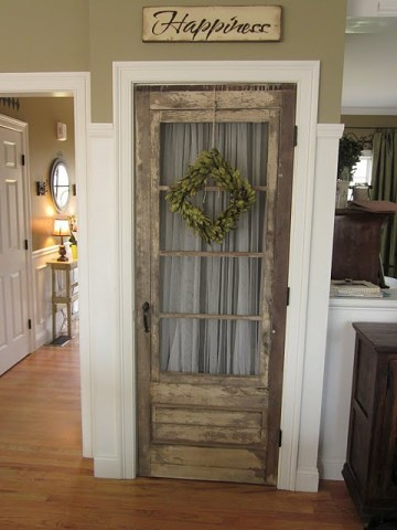 recycled door - interior doors - quinju.com