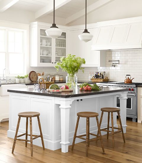 nice sized island addition-kitchen island design ideas-quinju.com