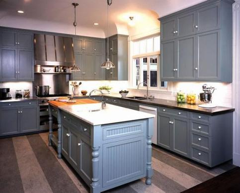 kitche update ideas - painted cabinets - quinju.com