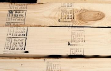 wood grade stamps