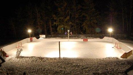 Outdoor Skate rink - lighting -quinju.com