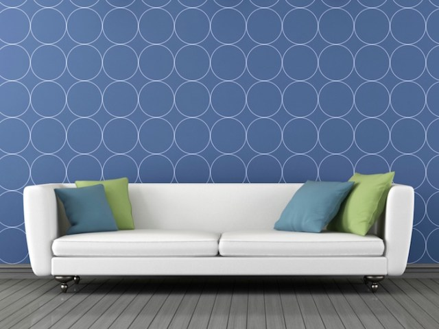 wallpaper decoration ideas-geometric wallpaper design-quinju.com
