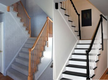 Interior Stair Renovation - Quinju.com