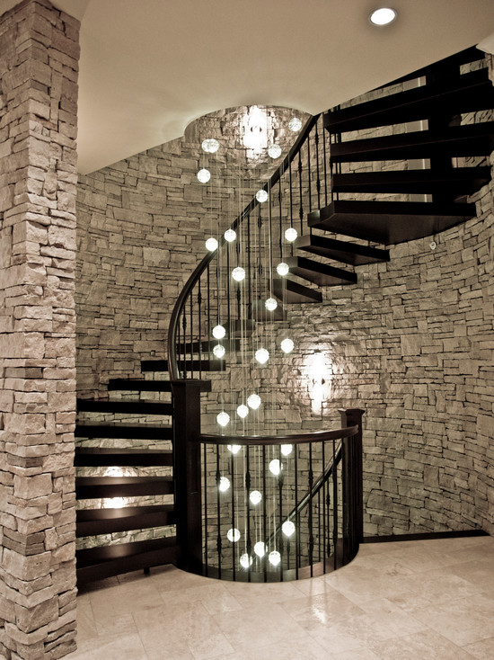 Stair Lighting   Interior Stair Renovation   Quinju.com
