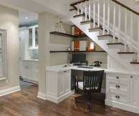 Storage ideas - Interior Stair Renovation - Quinju.com