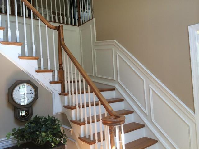 Stair Trim   Interior Stair Renovation   Quinju.com