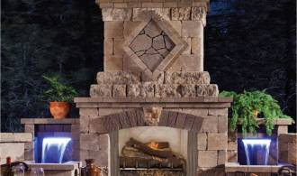 Gas Fireplace – inside or outside – endless options