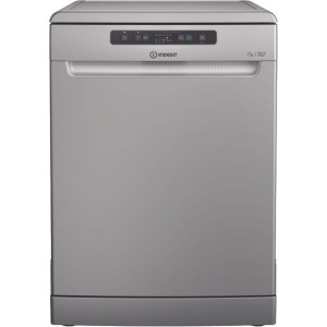 Indesit DFC2B16SUK 60cm Dishwasher Freestanding Silver 13 Place