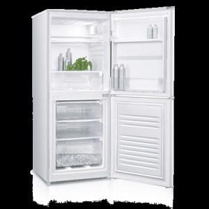 Ice King IK5558W Fridge Freezer 136 cm tall White