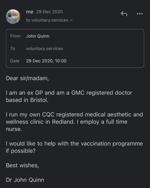 Campaign To Open COVID Vaccination Centre